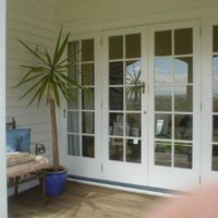 10 Lite Colonial Glazed doors with Sidelites