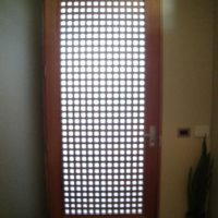 Lattice with Frosted Glass (internal view)