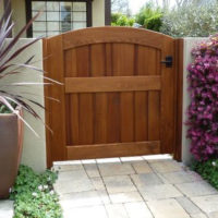 Traditional Cedar Gate