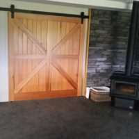 Cedar T&G barn door 1 (1)